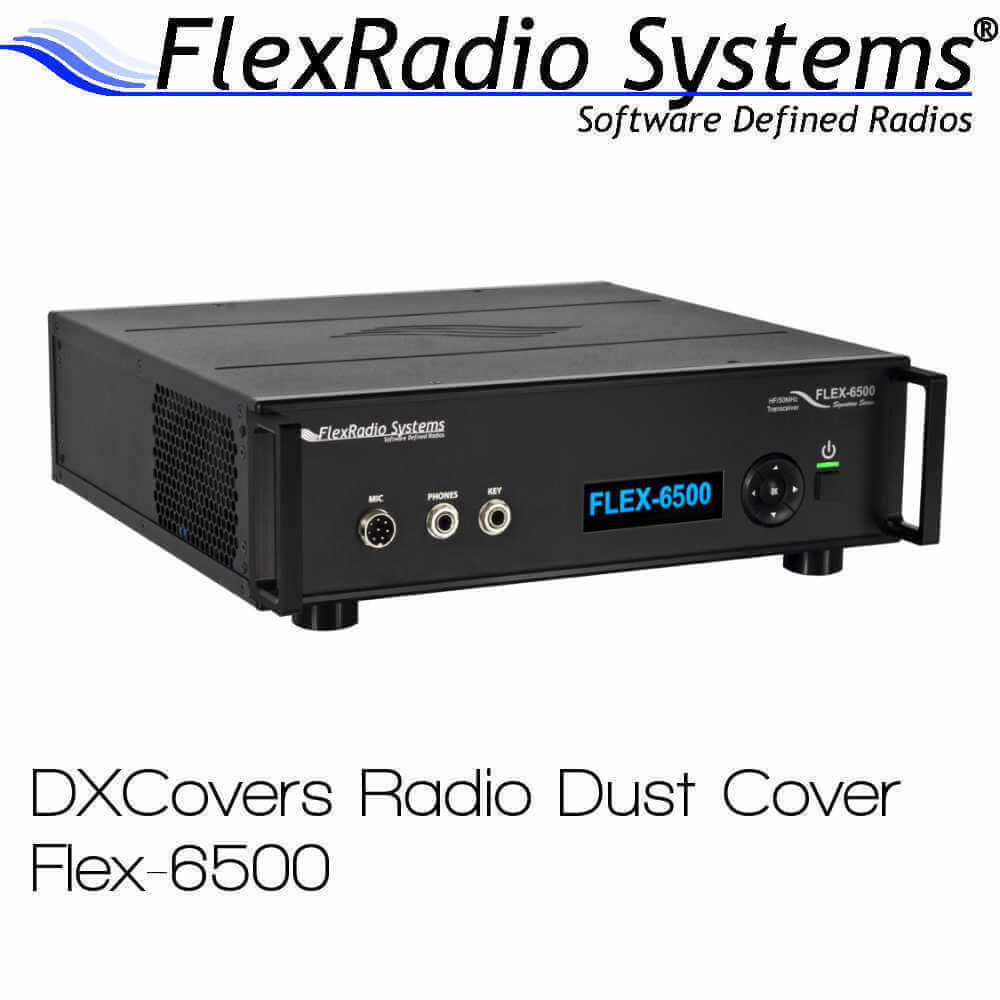 Flex Radio Systems 6500 DX Covers radio dust covers