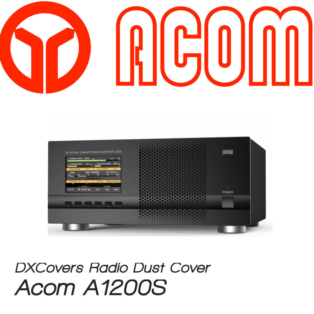 Acom A1200S DX Covers radio dust covers