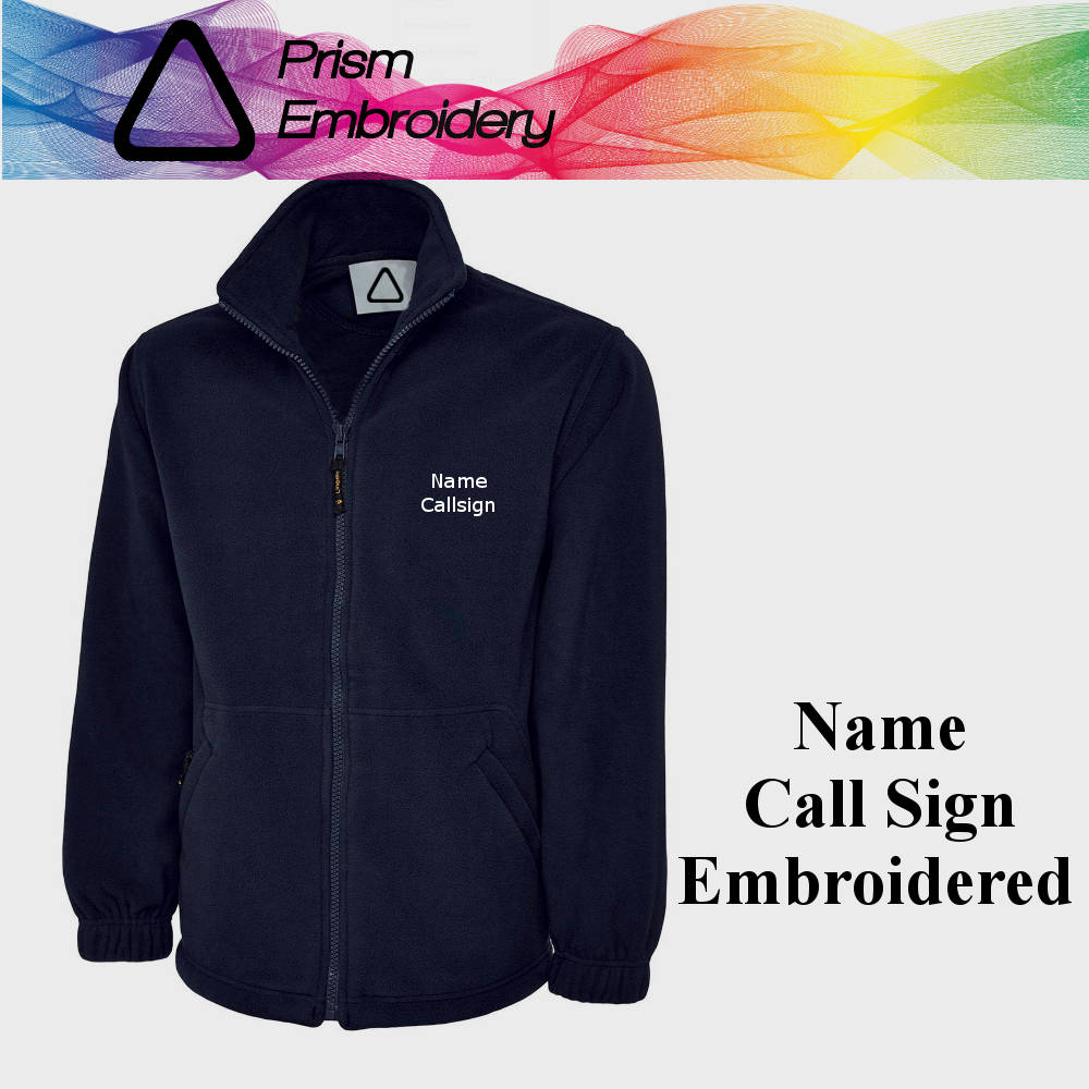 Bryce Canyon Embroidered Colorblock Micro-fleece Jacket