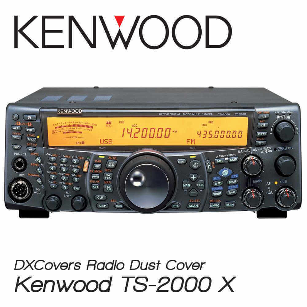kenwood ts 2000 e x dx covers radio dust cover prism. Black Bedroom Furniture Sets. Home Design Ideas